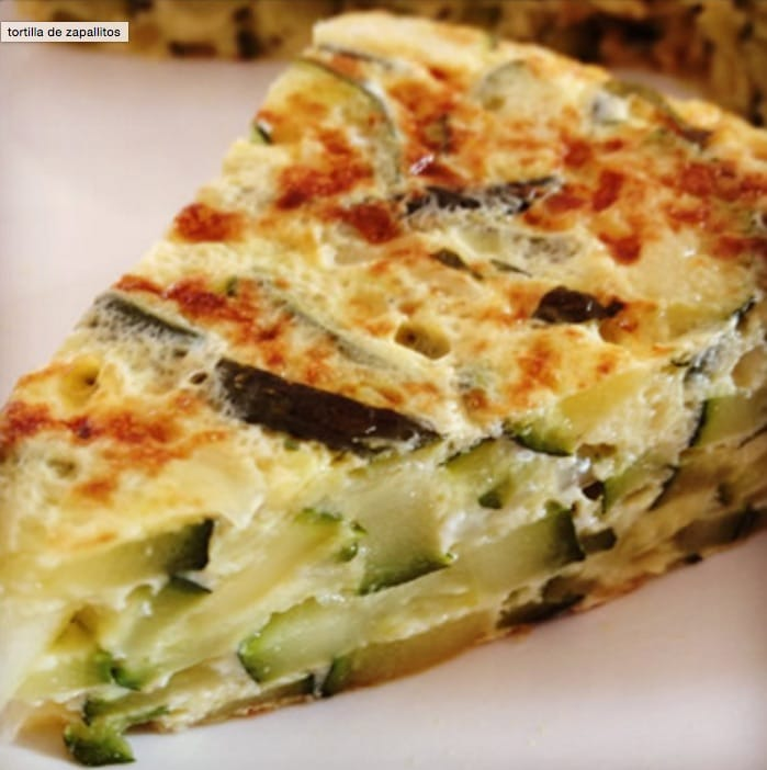 Tortilla de Zapallitos