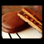 Alfajores de chocolate estilo marplatenses