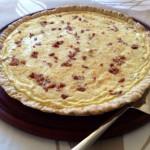 Tarta de Jamón, Panceta y Queso