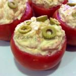 Tomates Rellenos de Atún y Papas