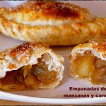 Empanadas de manzana y canela