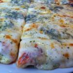 Pizza a los quatro quesos