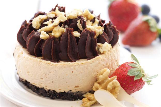 Cheesecakes de Oreo y dulce de leche