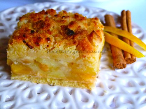 Resultado de imagen para tarta de manzanas