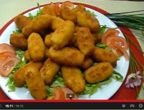 Deliciosas croquetas de pollo (con bechamel)