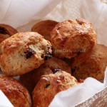 Scones con frutos secos