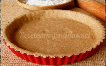 masa tarta integral
