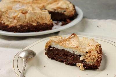 brownie merengado