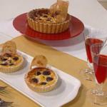 Torta de ricota y cerezas
