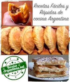 Recetas Fáciles y Rápidas de cocina Argentina
