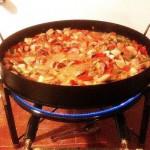 Chorizos a la Pomarola por @LaGuerrillaFood