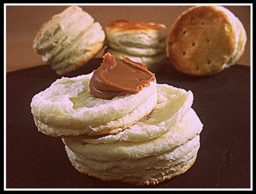 Galletas de grasa parecidas a las típicas de Gualeguay