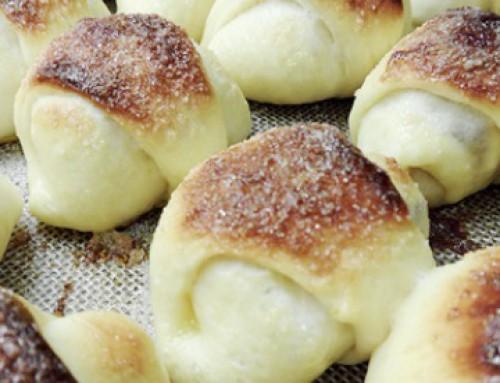 Sacramentos rellenos con Membrillo (para Máquina de pan)