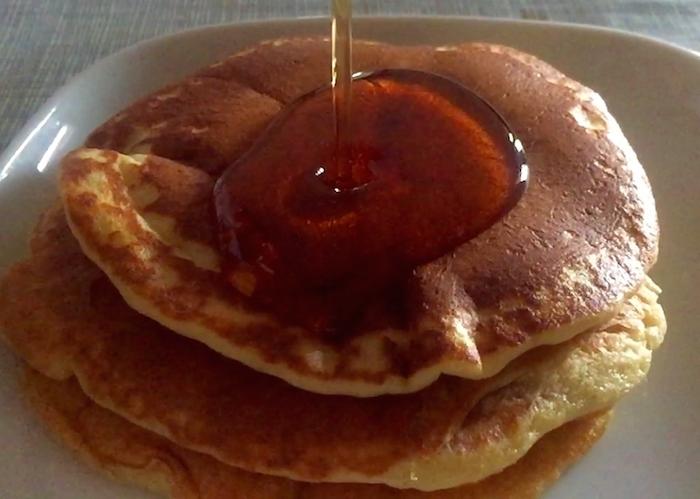 Tortitas tipo americanas (hot pancakes)