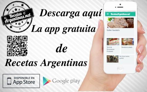 app Recetas Argentinas