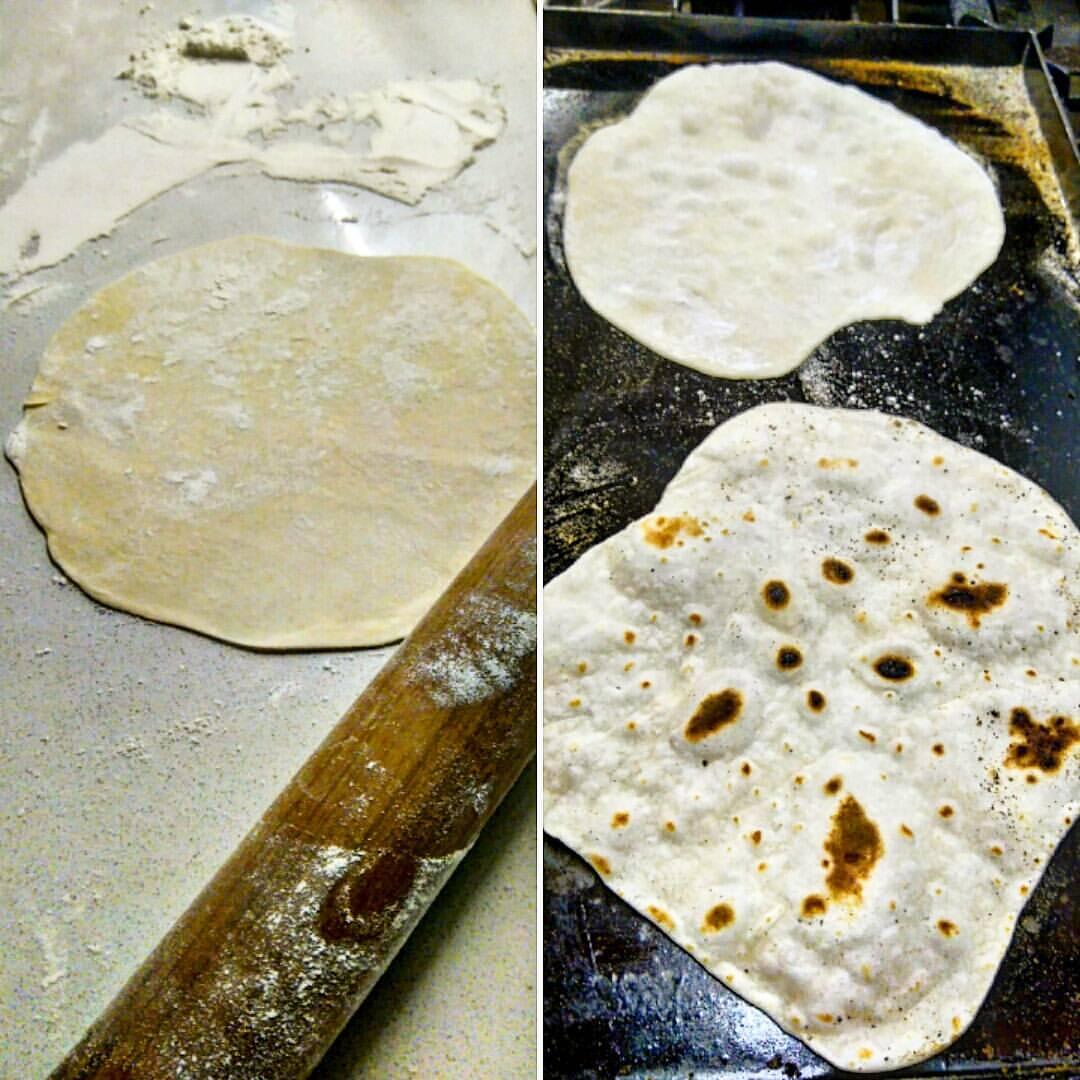 Tortillas de trigo (como las rapiditas, pero 50 veces más baratas) Por @LaGuerrillaFood