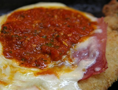 Milanesa de Pollo a la Napolitana. De contacto Con Lo Divino