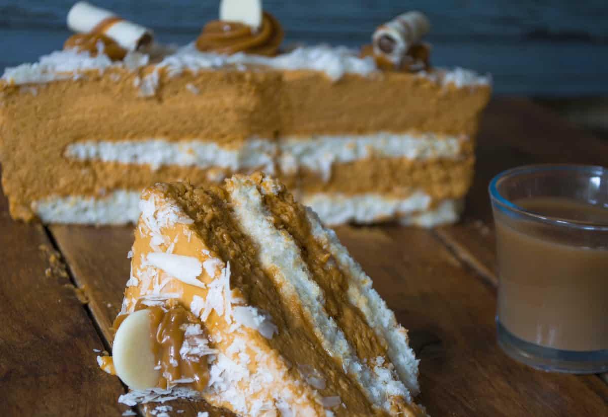 Torta Mousse de Dulce de Leche