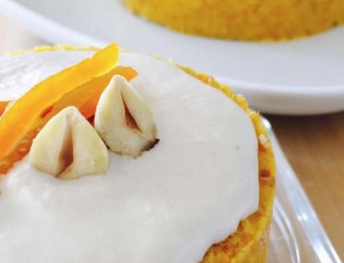 Tarta de zanahoria vegana sin cocción ( carrot cake)