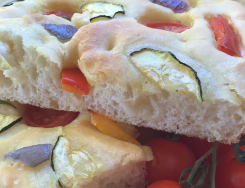 Focaccia con verduras