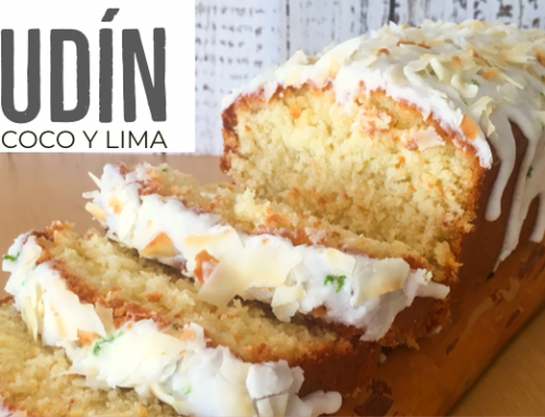 Budín de coco y lima