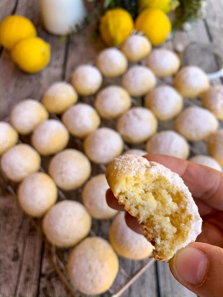Bizcochitos de Ricota y limón